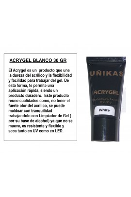 ACRYGEL BLANCO 30 GR