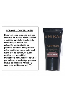 ACRYGEL ROSA COVER 30 GR